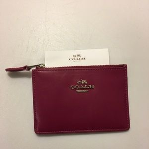 Coach Change Purse/Credit Card/ ID mini wallet
